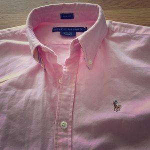 Ralph Lauren slim fit button down oxford